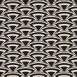 Retro seamless pattern in art deco style — Stockvectorbeeld