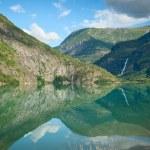 View of Lustrafjorden, Norway — Stock Photo #17148963