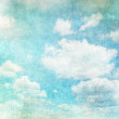 Retro image of cloudy sky — Stock Photo #17149721