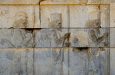 Ancient bas-reliefs of Persepolis, Iran — Stock Photo