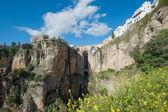 Brücke in ronda, ronda, andalusien, spanien — Stockfoto