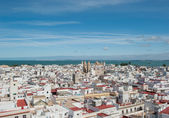 Panorama of Cadiz, Spain — Foto de Stock