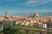 Panorama de florencia, italia — Foto de Stock