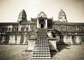 Angkor Wat temple, Cambodia — Stock Photo