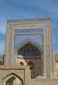 Madressa in antike stadt chiwa, usbekistan — Stockfoto