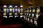 Slot machines, Las Vegas, Nevada — Stock Photo