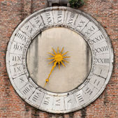 Venetian clock — Stock Photo