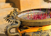Censer in songzanlin tibetan monastery, shangri-la, china — Stock Photo