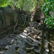 Ruins of Beng Mealea, Angkor, Cambodia - Stock Photo