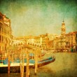Vintage image of Grand Canal, Venice — Stock Photo #17150575