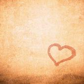 Grunge valentine den pozadí — Stock fotografie