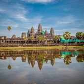 Angkor Wat temple at sunrise, Cambodia — Stock Photo