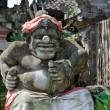 Statue of Balinese demon in Ubud — ストック写真