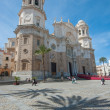 Cadiz cathedral, Andalusia, Spain — Stock Photo
