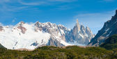 Cerro torre dağ, patagonia, arjantin — Stok fotoğraf