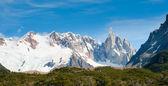 Cerro torre montanha, patagônia, argentina — Foto Stock