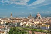Panorama van florence, italië — Stockfoto