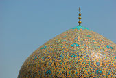 Dome of Sheikh Lotf Allah Mosque, Isfahan, Iran — Stock Photo