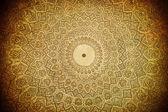 Cúpula de la mezquita, adornos orientales de samarcanda, luxembour — Foto de Stock