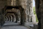 Arènes de nîmes, amphithéâtre romain à nîmes, france — Photo