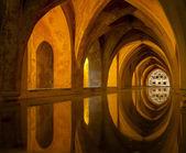 浴在阿尔卡扎,塞维利亚,西班牙 — 图库照片