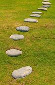 Path in eastern garden — Stock Photo