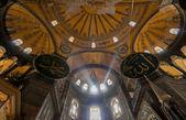Interior of Hagia Sophia, Istanbul — Stock Photo