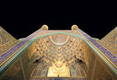 Imam Mosque at night, Isfahan, Iran — Stock Photo