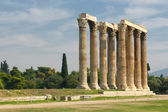 Greek columns, Temple of Olympian Zeus, Athens — Foto Stock