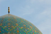 Dome of Imam Mosque, Isfahan, Iran — Stock Photo