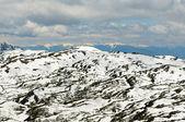 Sneeuw bergen van tibet — Stockfoto