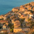 Medieval walled town of Monemvasia, Greece — Stock Photo #17420309