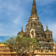 Stupas of Wat Si Sanphet, Ayutthaya, Thailand — Stock Photo #17420435