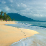 Lamai Beach, Koh Samui, Thailand — Stock Photo