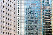 Windows von bürogebäuden — Stockfoto