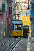 Elevador da Bica, Lisbon, Portugal — Stock Photo
