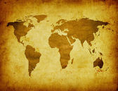 Ancient map of the world — Foto Stock