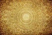 Gringe bakgrund med orientaliska ornament — Stockfoto