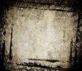Grunge framework — Stock Photo