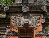 Statue of Balinese demon in Ubud — Foto Stock
