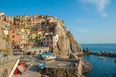 Village of Manarola, Cinque Terre, Italy — Stock Photo