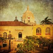 старинные изображения картахена, колумбия — Стоковое фото
