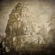 Faces of Bayon temple, Angkor, Cambodia — Stock Photo #21108925