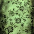 Grunge floral background - 图库照片