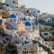 Oivillage at Santorini island, Greece — Stock Photo #21109659