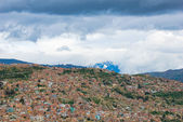 Panoramic view of La Paz, Bolivia — Stock Photo