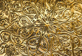 Background with oriental ornaments — Stock Photo