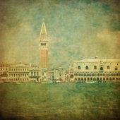 Vintage image of Venice, Italy — Stock Photo