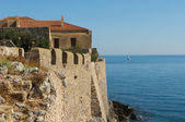 Medieval walled town of Monemvasia, Greece — Stock Photo