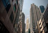 Arranha-céus, típica paisagem urbana — Foto Stock